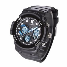 ALIKE AL16121 Digital-Analog Sport Military Water/Shock-Proof Quartz Wrist Watch