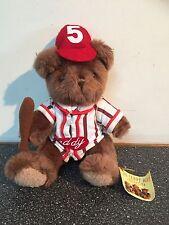 The teddy bear collection bob le joueur de baseball