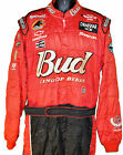 DALE EARNHARDT JR NASCAR CREW BUD SUIT VERY RARE WITH EARNHARDT ON BACK