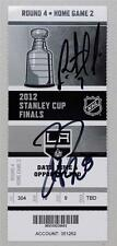 Rob Scudary Dustin Penner Signed 2012 LA Kings Devils Stanley Cup Ticket Game 4