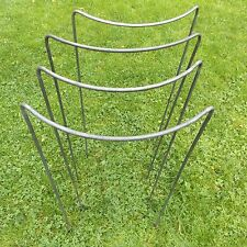 "4 Extra Tall 36""x16"" Handmade Victorian Style Plant Supports in 5/16"" Iron Bar"