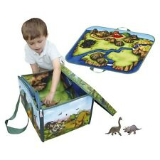 Neat-Oh Dinosaur Play Set and Storage Bin