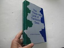 Navy Naval 3 Mile Limit Territorial Seas Signed Annapolis 1972 Warships History