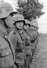 WW2 Photo WWII German Soldiers In Formation World War Two Photo   / 2269