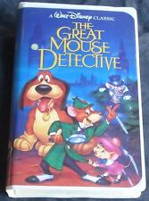 The Great Mouse Detective - Walt Disney Classic - Gently Used VHS Clamshell