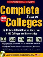 Princeton Review Complete Book of Colleges: Complete Book of Colleges 2000 by...