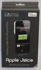 LifeWorks LW-IC2I0B iConnect Apple Juice Battery Case for iPhone 4/4s Black NEW