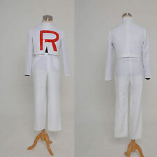 Pokemon Team Rocket James Cosplay Costume Jacket Outfit Suit Uniform