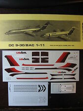 1/144 ATP DECALS DC 9-30 / BAC 1-11  USAIR DECALCOMANIE