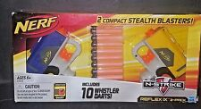 NERF N-STRIKE REFLEX IX 2-PACK INCLUDES 10 WHISTLER DARTS...HASBRO..NEW