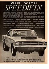 1968 DODGE HEMI DART  ~  ORIGINAL SPEEDWIN AUTOMOTIVE PRINT AD