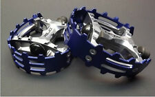 BearTrap CAGED OLD SKOOL BMX Racing Platform Pedals,  BLUE 9/16""
