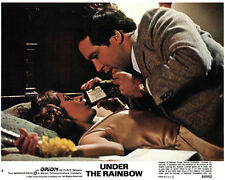 Under the Rainbow original lobby card Chevy Chase Carrie Fisher on bed