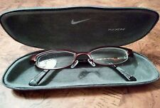 "Nike Eyeglass or Sunglasses Frame, 8008 / 606, ""The Eyes Lead The Body"", Maroon"