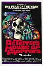 Dr Terrors House Of Horrors Poster 01 A2 Box Canvas Print