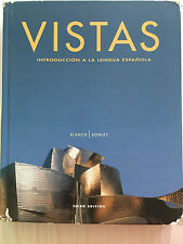 Vistas: Introduccion a LA Lengua Espanol 3rd Edition