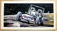 Brooke Bond RACE INTO SPACE card 42. Apollo Lunar Roving Vehicle.