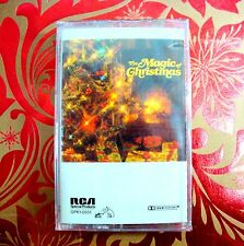 BRAND NEW THE MAGIC OF CHRISTMAS SONGS CASSETTE TAPE