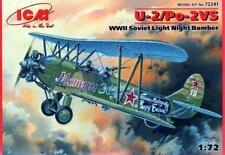 POLIKARPOV U-2 VS/Po-2 VS BOMBER (SOVIET & POLISH AF MKGS) 1/72 ICM