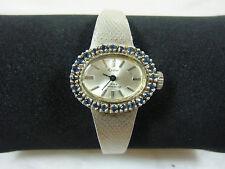 835er Silber Damen Armbanduhr Fa. Reno, 17 Rubis, 32 gr., läuft, der Ziffernblat
