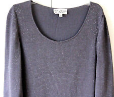 NEW! St John Evening Studded Sweater Dress SZ 12, AMAZING! $1250