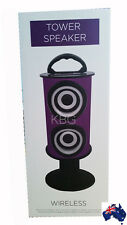 Aus Qlty-Wireles Tower Speaker With Rech Batry MP3, Fm Radio, USB, Remote Contrl