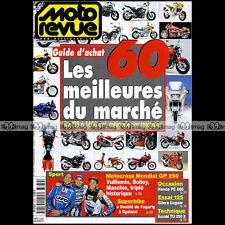 MOTO REVUE N°3370 WRC 600 HONDA PC 800, SUZUKI TU 250 X, GILERA 125 COGUAR 1999