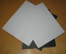 * LOT OF 5 Thick (20 mil) Plastic Magnetic Sheets, 8x 11 SELF ADHESIVE,