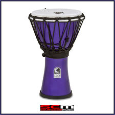 TOCA 7″ FREESTYLE COLORSOUND DJEMBE HAND DRUM – METALLIC INDIGO PURPLE