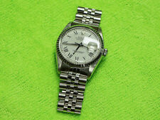 Men's Luxury Rolex Oyster Perpetual Datejust 16030 Stainless See Pictures
