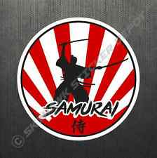 Rising Sun Samurai JDM Sticker Vinyl Decal Japan Car Motorcycle For Honda Acura
