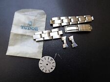 PARTS ROLEX BAND OYSTER LADY TUDOR PRINCESS 25 MM  DIAL HANDS KIT LOT SPARE