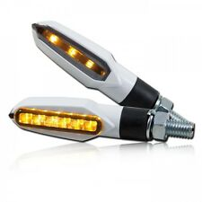 CLIGNOTANTS LED Slight blanc,Yamaha R1,R6,FZ1,FZ8,FZ6,MT01,MT03,MT07,MT09,