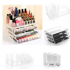 Clear Acrylic Cosmetics Organizer Makeup Storage Case Jewelry Display Box Drawer