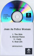 JOAN AS POLICE WOMAN Real Life Sampler 2006 UK 4-track promo only CD