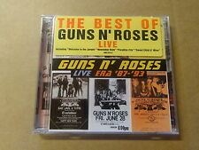 2-DISC CD / GUNS N' ROSES: LIVE '87 - '93 - THE BEST OF (GEFFEN)
