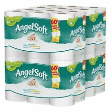 Angel Soft Bath Tissue, 48 Double Rolls Toilet Paper, 12 Count Pack of 4