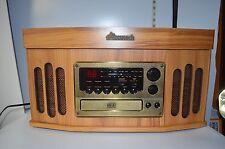 Accutech Model AMC-4914 Compact Hi-Fi Stereo w/CD, Radio, Cassette, Turntable