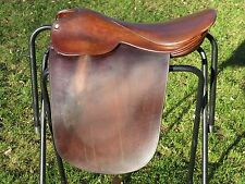 """MUST SEE~Super Quality JIMMY'S MADE IN ENGLAND Cutback Saddleseat Saddle~21.5"""""""