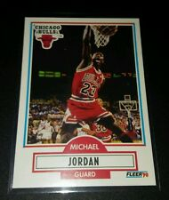 Michael Jordan #26 Fleer 1990 Trading Card NBA Chicago Bulls