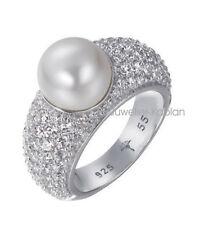 JOOP! Michelle Damen Ring JPRG90645A550 925 Silber mit Perle NEU UVP 199€
