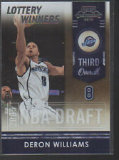 DERON WILLIAMS  2009-10 PLAYOFF CONTENDERS LOTTERY WINNERS CARD #10