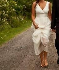 J.Crew Wedding Dress Sophia Silk Simple Casual Destination Bridal Gown NWT sz 12