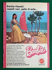 VV83 Pubblicità Advertising Clipping 19x13 cm (1975) BARBIE HAWAII MATTEL