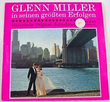 *-Vinyl-LangSPIELplatte - Glenn MILLER in seinen größten ERFOLGEN -