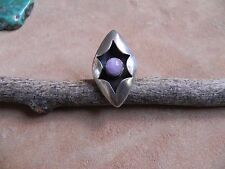 Amethyst & Sterling Silver Shadowbox Ring Size 5 1/2 by JT Navajo