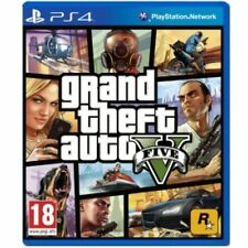 PS4 GTA V - Grand Theft Auto 5 Game Brand New