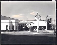 Seattle WA Texaco Service Station 4th and Cherry Olympian Auto Parts B & W Photo