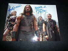 4x HERCULES Cast signed Autogramm In Person 20x28 cm INGRID BOLDO BERDAL etc.