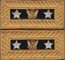 Post Civil War General Comm Shoulder Boards Extra Rich Shoulder Straps-FreeCoin